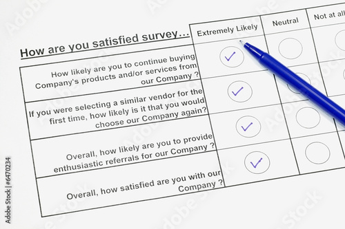 How satisfied are you survey 2