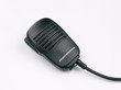 radio transceiver or walkie talkie microphone receiver macro