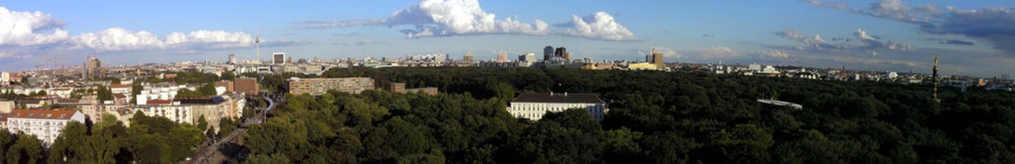 Berlin Panorama Tiergarten