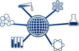 science molecule poster