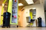 Fototapety Funky modern interior of hair salon.