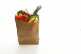 Groceries bag poster
