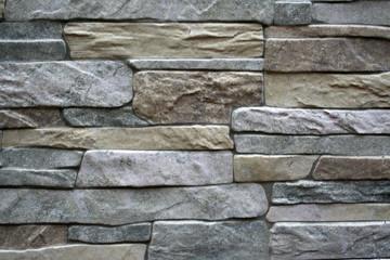 piedras en una pared. textura artificial