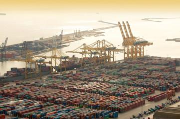 Barcelona Containerhafen