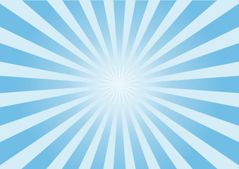 raggi azzurri