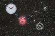 Fototapete Wetter - Astronomie - Nacht