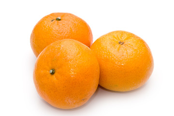 Group of mandarines
