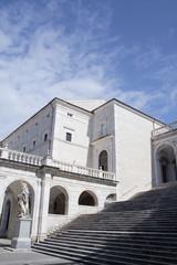 Scalone pricipale abbazia