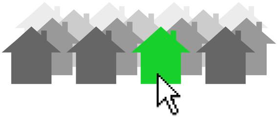 Clic sur la bonne maison