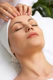 facial massage poster