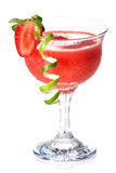 Strawberry Daiquiri - Most popular cocktails series poster
