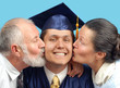 Kissing the new graduate
