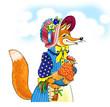 obraz - fox