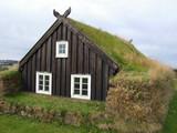 Icelandic house poster