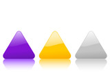 triangular color icon 2 poster