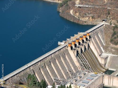 Plexiglas Dam dam