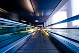 moving escalator - 6514432