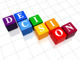 decision in colour poster