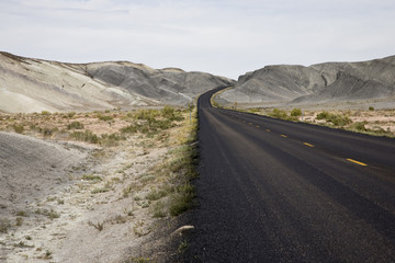 Road in Henry Mountains Hanksville Utah (EV)