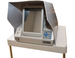Newest Touch Screen Voting Machine