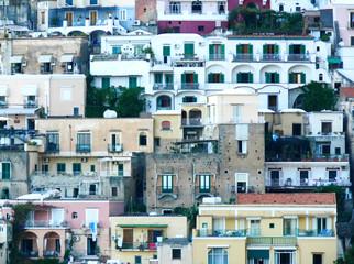 landscape for classics mediterranean houses of Positano