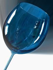 blaues glas