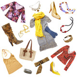 Lady's clothes and accessories