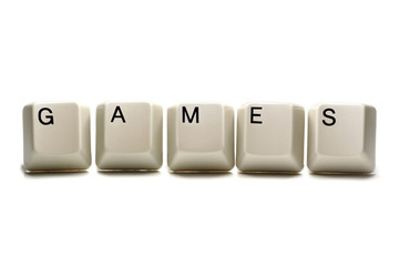 games - computer keys