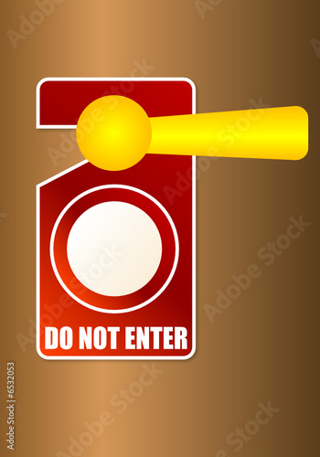 Porta - Do not enter