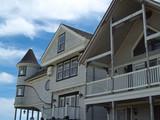 Seaside Victorian Homes, Ocean Grove, NJ poster