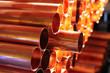 Leinwanddruck Bild - Copper Tube
