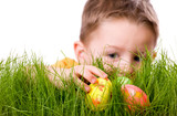 Fototapety Easter egg hunt