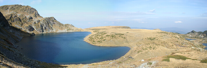 Rila Mountain with Kidney lake