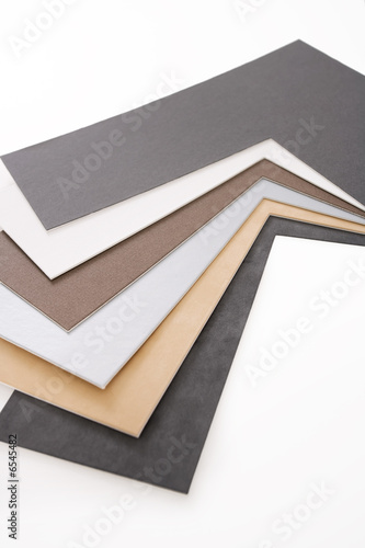matboard corner samples