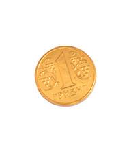Ukrainian one hryvnya coins