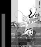 Monochrome illustration poster