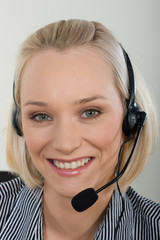 beautiful customer support  woman3