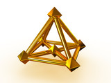 Simple geometrical figure. poster