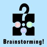 Brainstorming metaphor poster