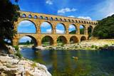 Pont du Gard in southern France poster