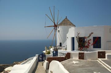 hotel windmill Santorini Greece