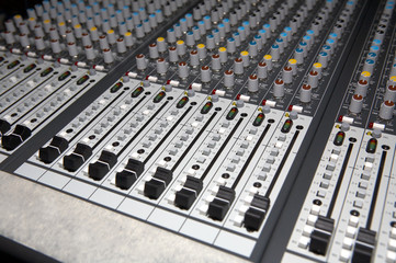 Audio Mixing panel