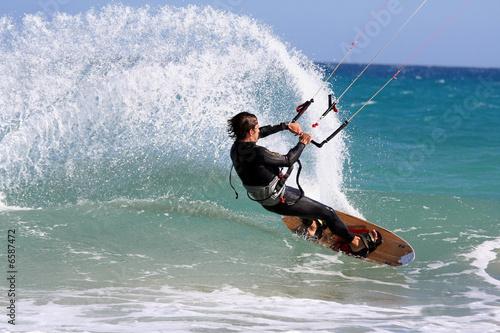 Fototapeten,surfen,kitty,kitesurf,kitesurfing
