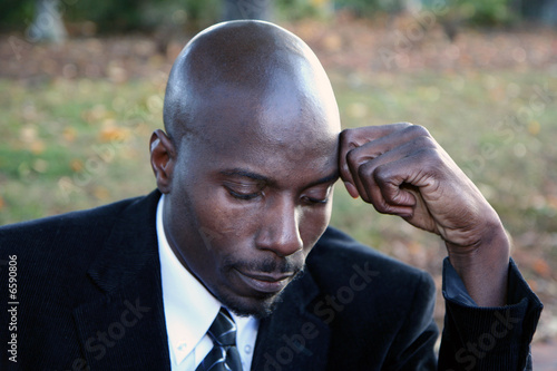 Businessman Thinking