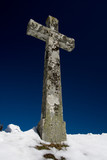 croix crucifix religion chrétien chrétienne ciel église symbole poster