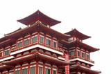 Číňan Temple stavební architektura