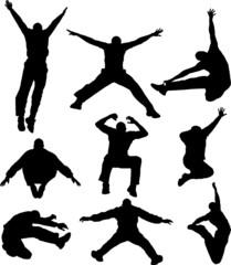 yung man jumping