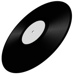 Vinyl disc illustration