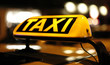 canvas print picture - TAXI