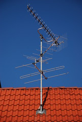 Antenne am Dach